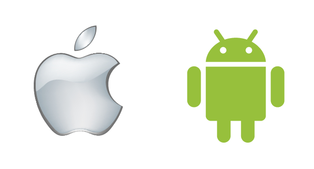 642x346 Android Apple Logo Vector Free Psd,vector,icons