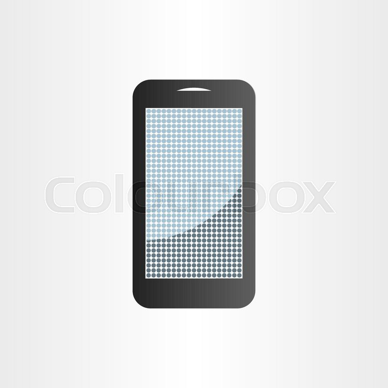 800x800 Android Mobile Phone Symbol Design Element Tablet Icon Stock