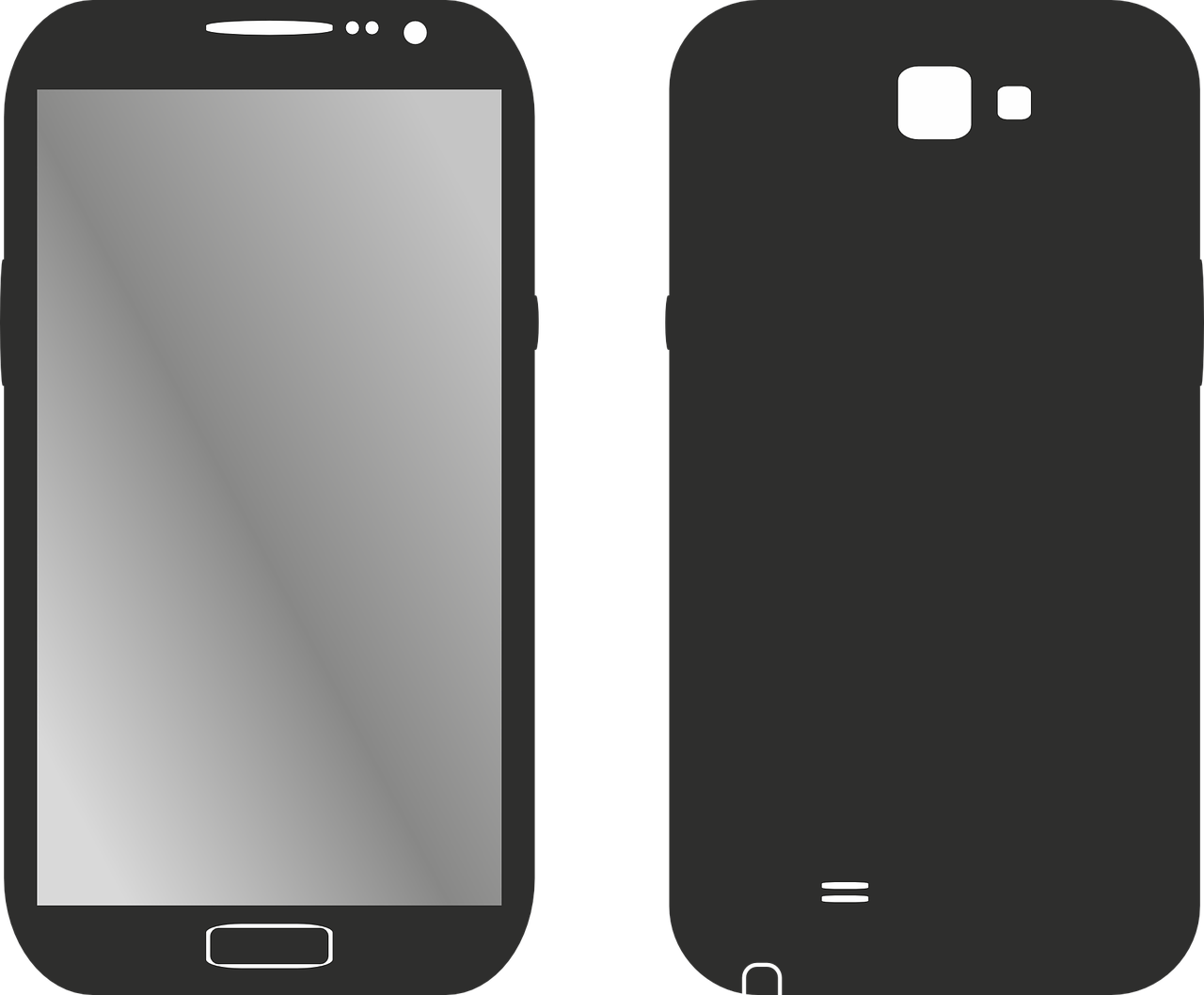 1280x1058 Collection Of Free Smartphone Vector Android. Download On Ubisafe