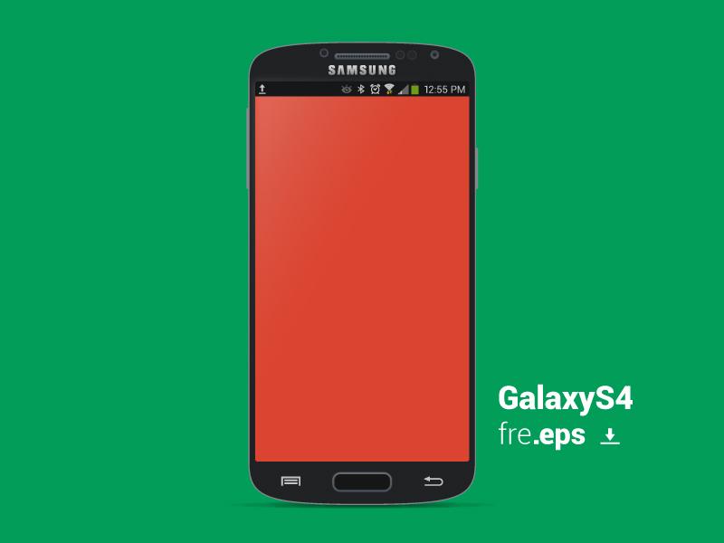 800x600 Galaxy S4 Vector Template By Michael Jordan