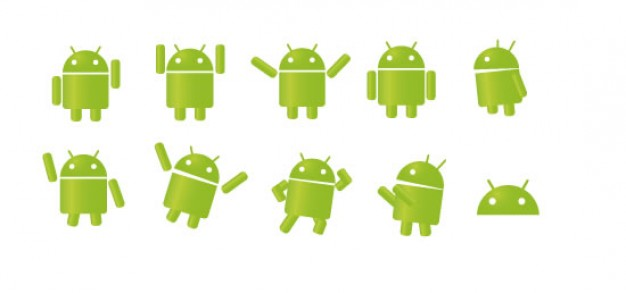 626x293 Android. Vector Free Download