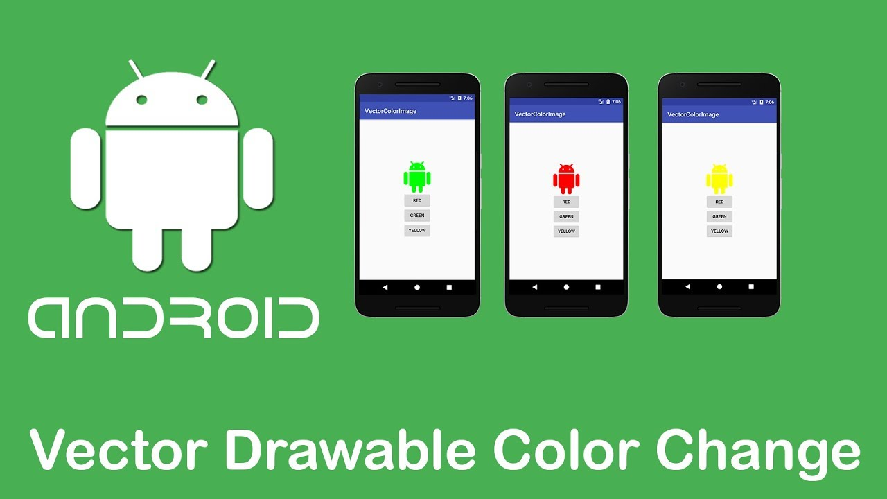 1280x720 Vector Drawable Color Change