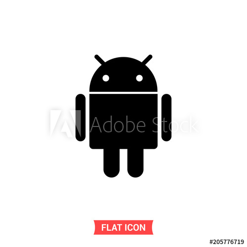 500x500 Android Vector Icon