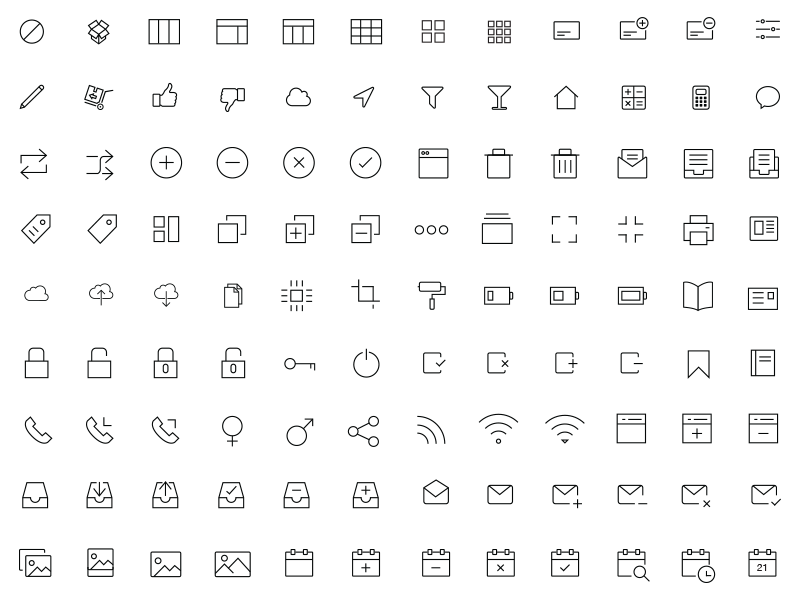 800x600 300 Ios And Android Vector Icons By Asif Aleem
