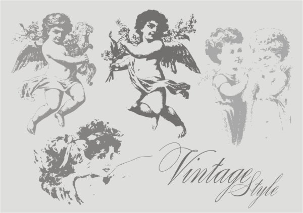 600x423 Free Vintage Angel Psd Files, Vectors Amp Graphics
