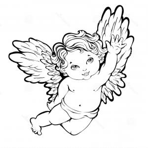 300x300 Sketch Of Angel Wings Vector Arenawp