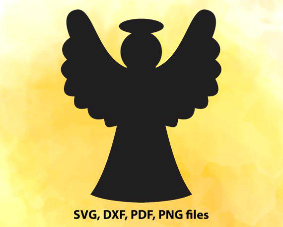 570x456 Angel Silhouette Clip Art Angel Silhouette Angel Clipart