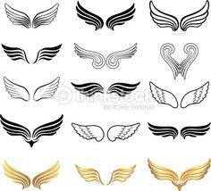 Angel Wings Vector Art