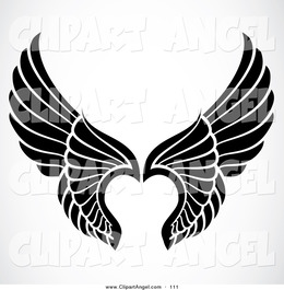 Angel Wings Vector Free Download at GetDrawings com | Free