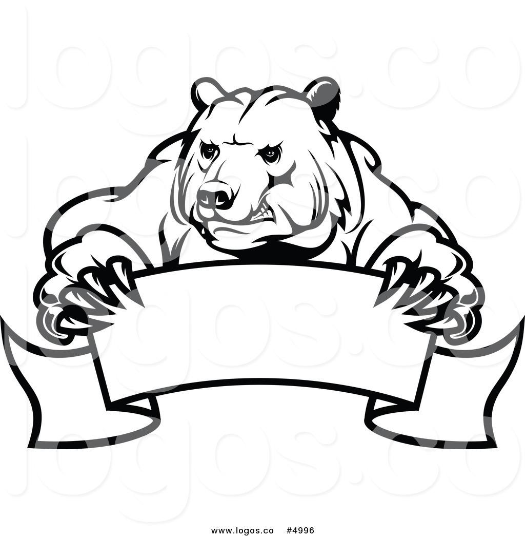 1024x1044 Black Bear Clipart Angry