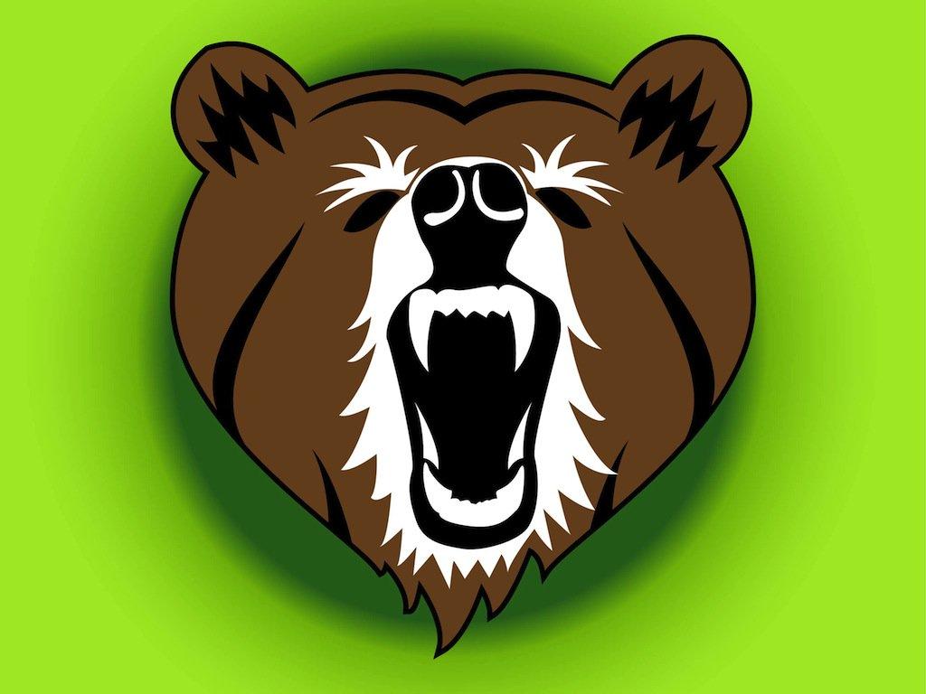 1024x768 Angry Bear Vector Art Amp Graphics