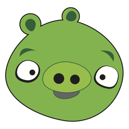 425x425 Angry Birds Pig Vector Free Vector Download In .ai, .eps, .svg