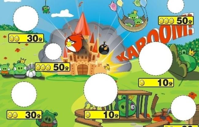 650x416 Angry Birds Throwing Background Board Pictures Free Download
