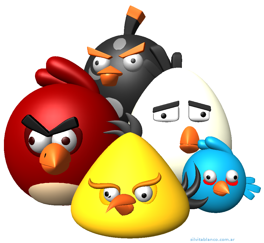 1003x926 Angry Birds Vector Png 20