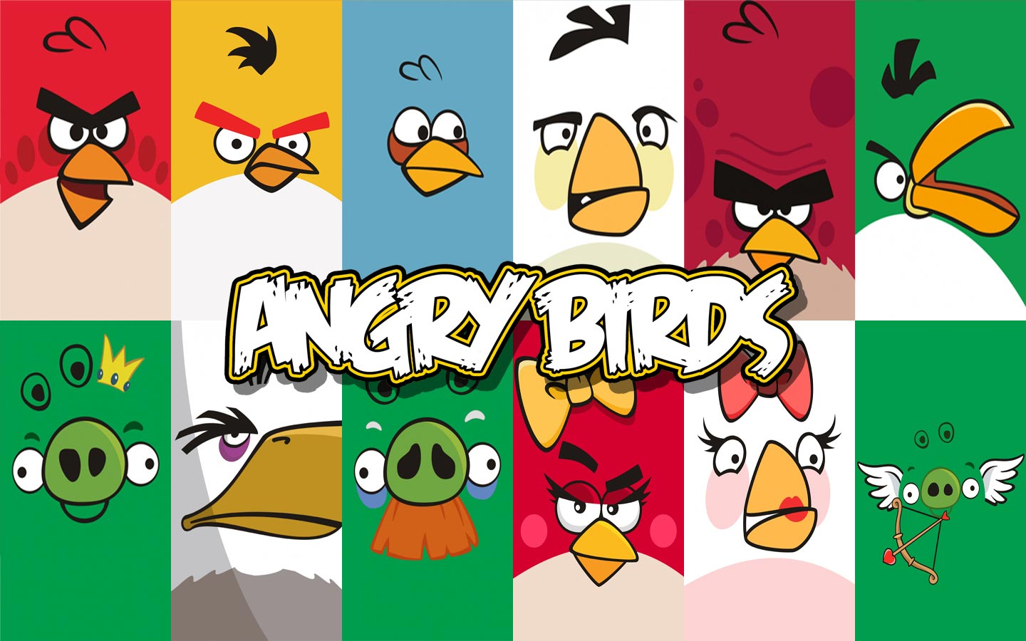 1440x900 Angry Birds Wallpapers Group