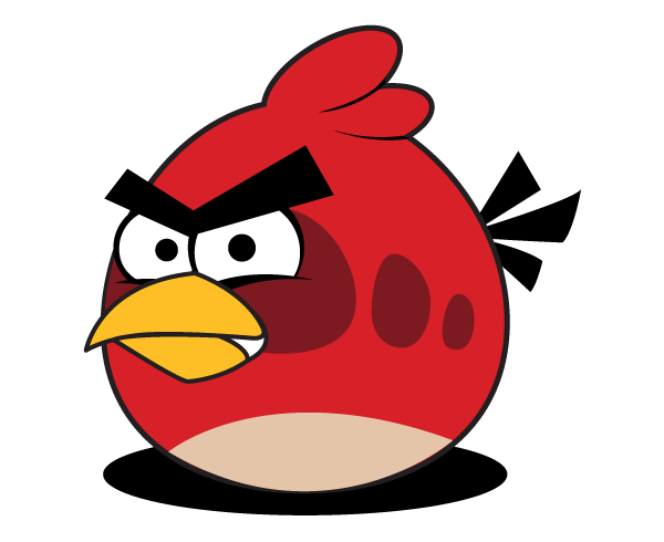 600x490 Free Red Angry Bird Vector Free Vectors Angry Birds