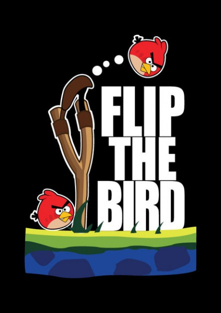 442x626 Angry Birds Fighting With Black Background Download Free