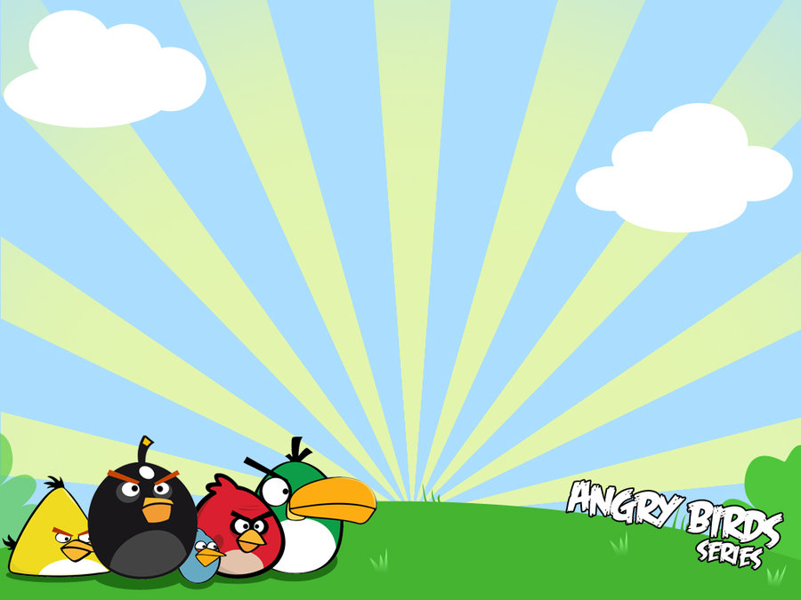 900x675 Angry Bird Powerpoint Templates