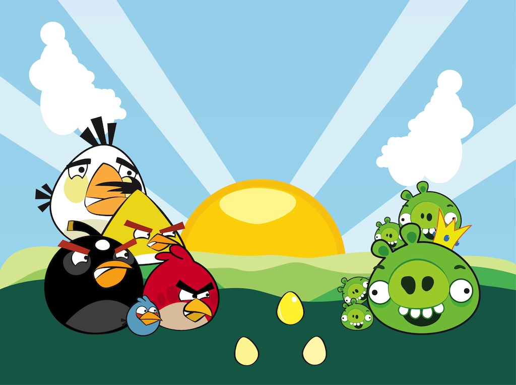 1024x763 Angry Birds Characters Vector Vector Art Amp Graphics