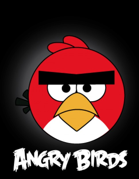 484x626 Angry Birds Video Game Character Vector Stock Images