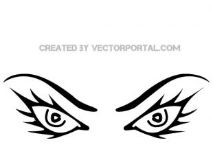 310x233 Angry Eyes Image Free Vector Free Vectors Ui Download