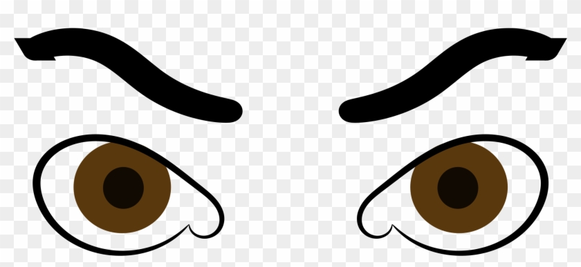 840x387 Angry Eyes Svg Vector File Vector Clip Art Svg File