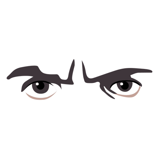 512x512 Angry Eyes Expression