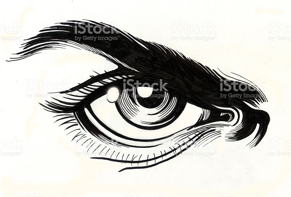 1024x693 Drawn Eyelash Angry Eye Free Collection Download And Share Drawn