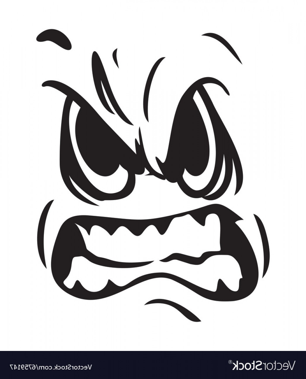 1046x1296 Angry Face Icon Resize Vector Shopatcloth