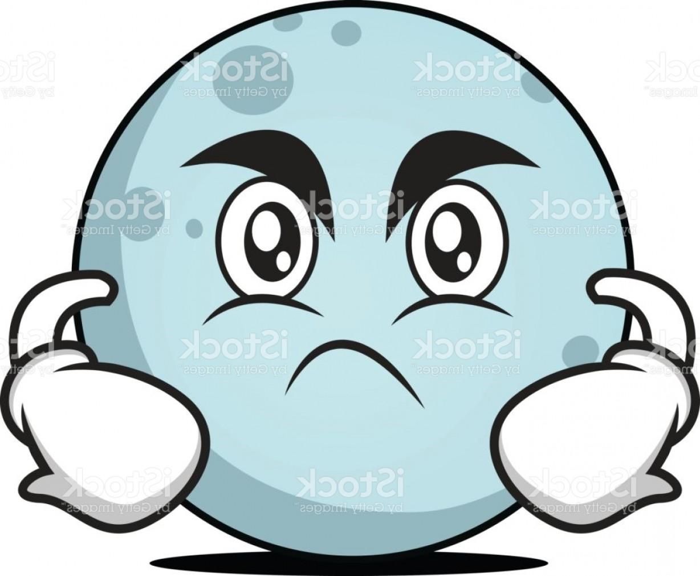 1228x1010 Angry Face Moon Cartoon Character Vector Illustration Gm Shopatcloth