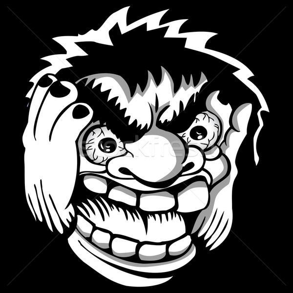 600x600 Angry Face Vector Illustration John Takai (Cteconsulting