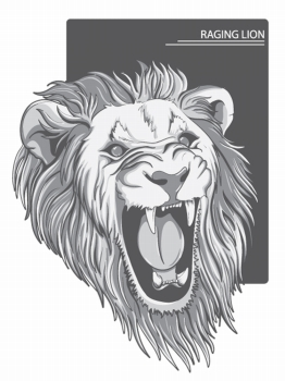 262x350 You Searched For Angry Lion Vector Illustration