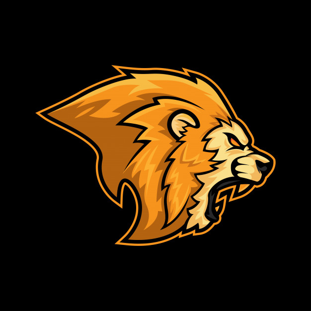 626x626 Angry Lion Roar Logo Mascot Vector Premium Download