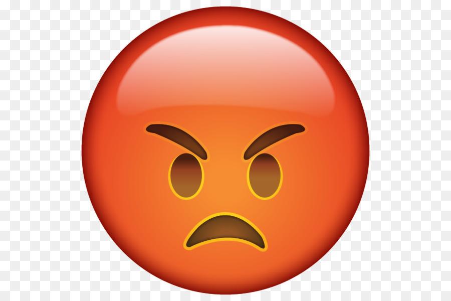 900x600 Emoticon Emoji Smiley Anger Clip Art