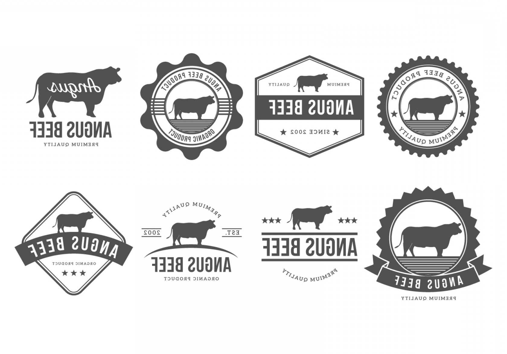 1680x1176 Free Angus Badges Vector Collection Arenawp