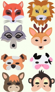 222x368 Animal Face Free Vector Download (8,798 Free Vector) For