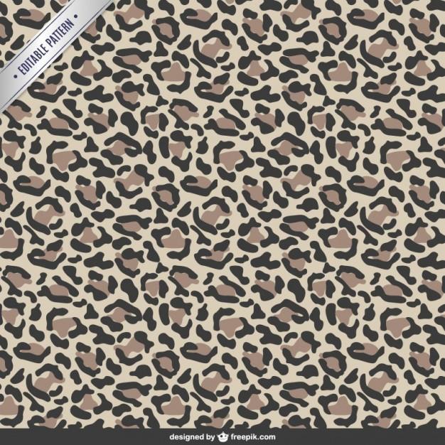 626x626 Animal Print Pattern Vector Free Download