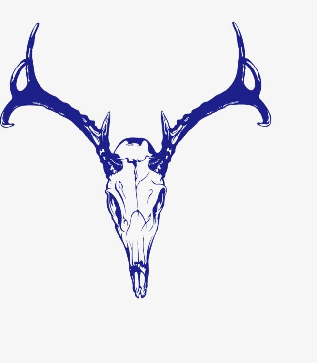650x742 Vector Animal Horns Skull, Animal Vector, Skull Vector, Animal