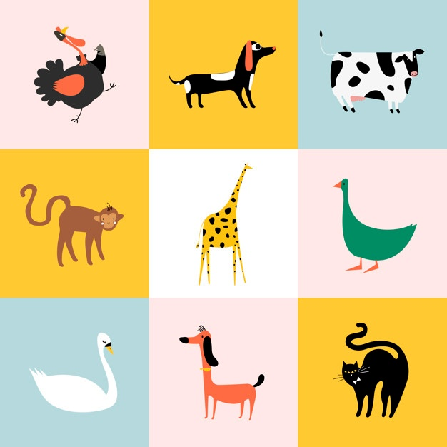 626x626 Animals Vectors, +71,200 Free Files In .ai, .eps Format