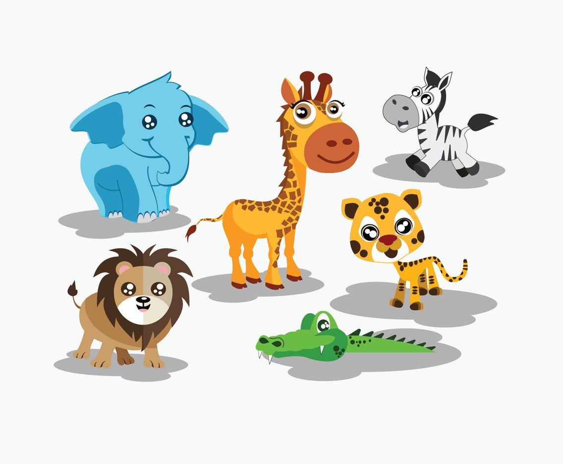 1136x936 Cute Cartoon Animals Vector Vector Art Amp Graphics