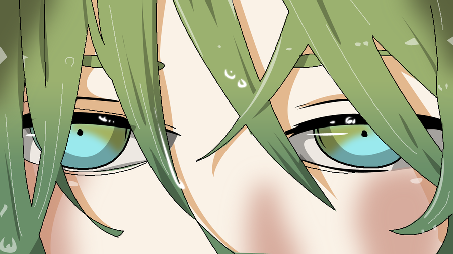 900x506 Anime Eyes Vector By Mrockz