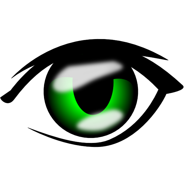 600x600 Anime Clipart Anime Eye