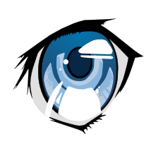 214x214 Learn To Draw An Eye In Anime Style Libre Graphics World