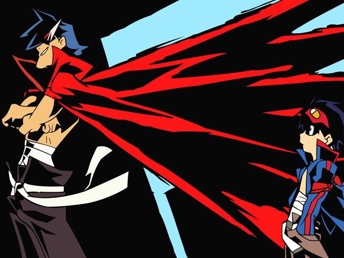 700x525 Tengen Toppa Gurren Lagann Vector Anime Manga Art Gigantic Print