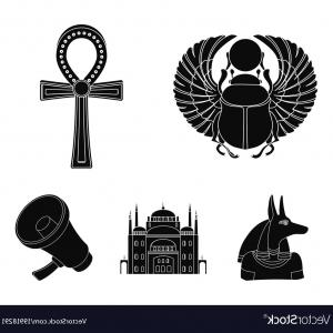 300x300 Egyptian Cross Ankh Symbol Vector Icon Lazttweet