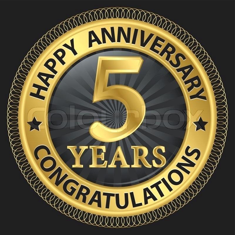 800x800 Happy 5 Years Anniversary 5 Years Happy Anniversary