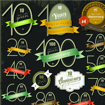 366x368 Anniversary Vectors Free Vector Download (399 Free Vector) For