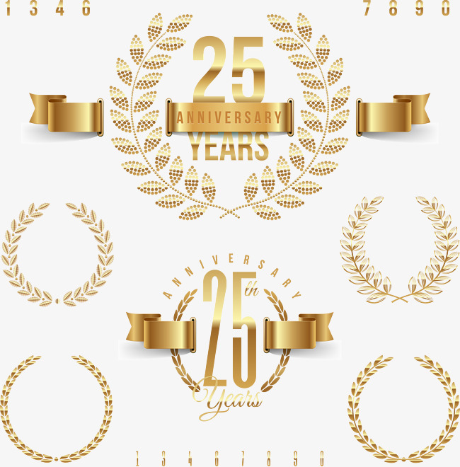 650x660 Vector 25 Anniversary, Vector, 25, Anniversary Png And Vector For