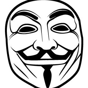 282x282 Anonymous Mask Vector Free Vector Download 209051 Cannypic