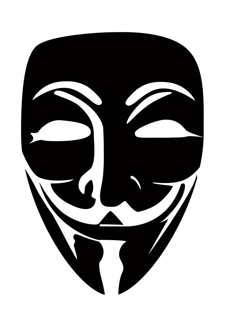 800x1148 Vendetta Mask Vector